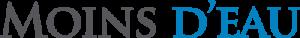 Moins D'eau logo
