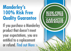 Manderley Quality Gurantee logo and link