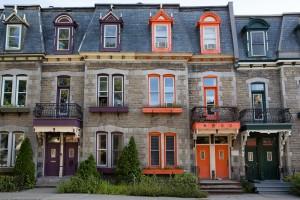 Montreal row homes
