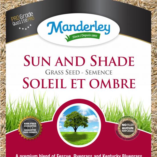 Manderley-Sun and Shade-clear bag