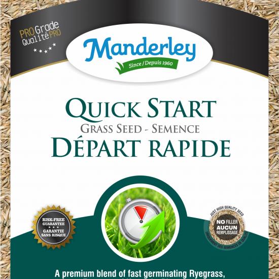 Manderley-Quick Start-clear bag