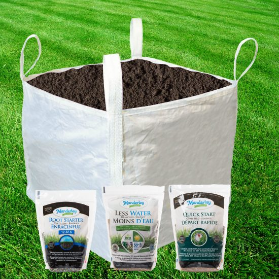 Lawn saver package
